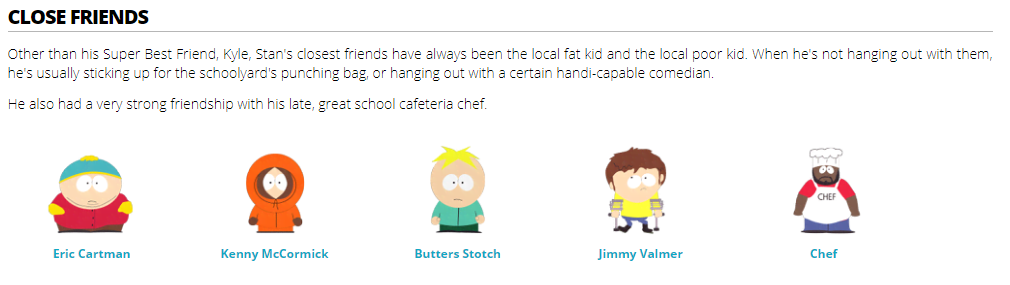 south-park-wiki-page-layout